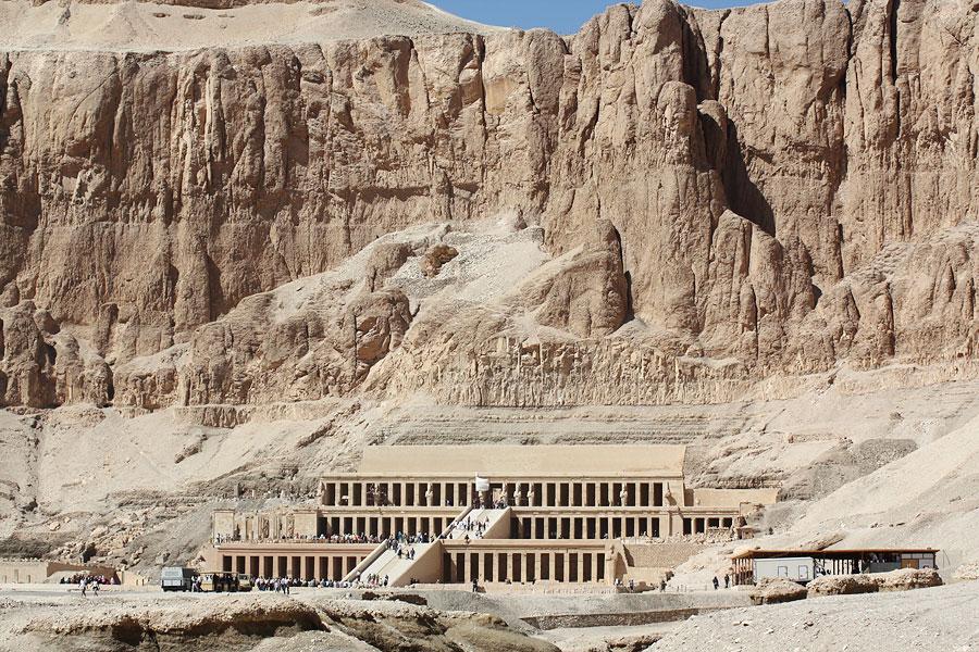 Храм Хатшепсут, Луксор, Египет, Африка