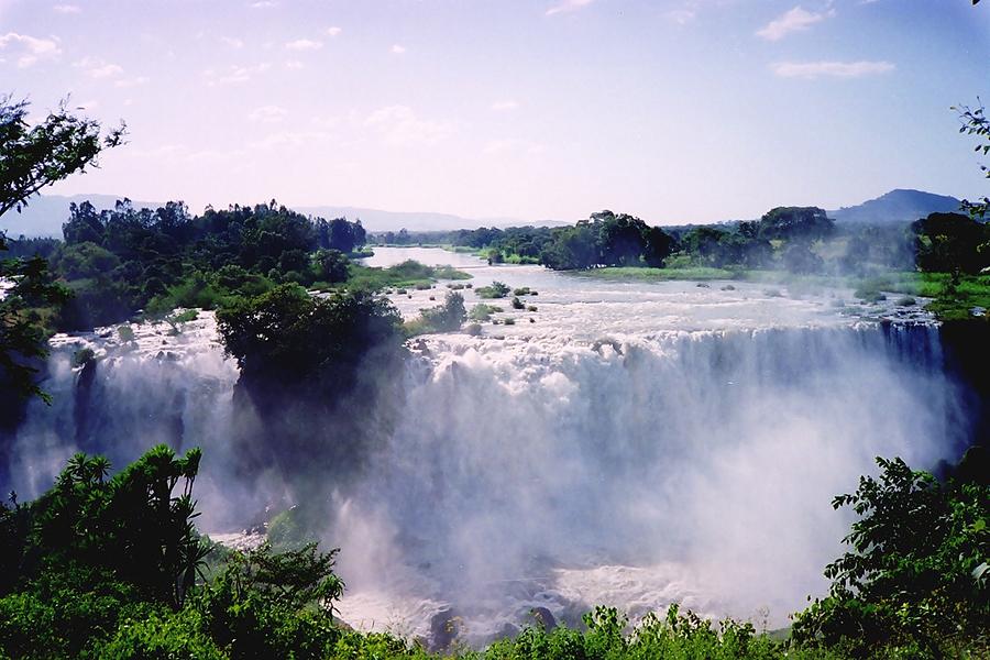 водопад Голубого Нила