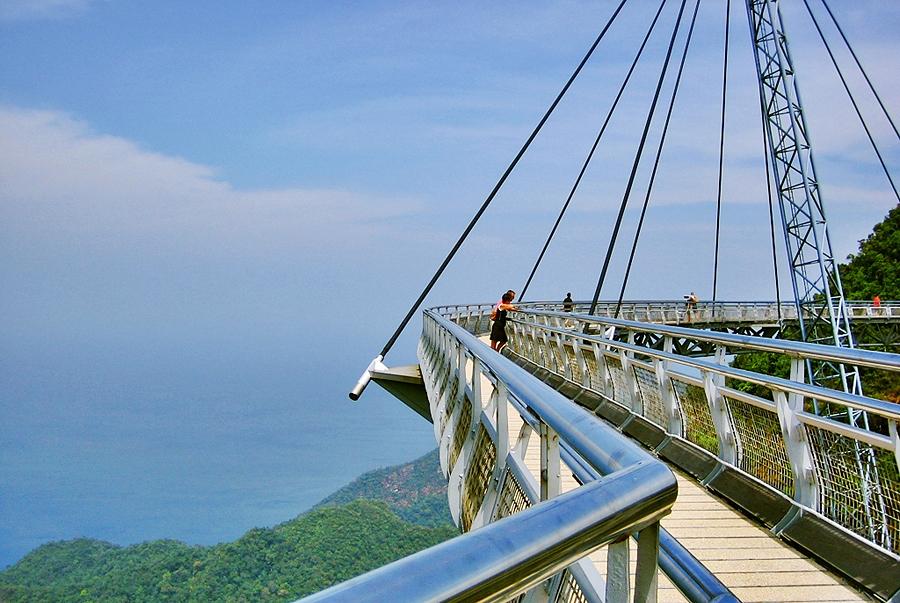 Смотровая площадка SkyBridge, Лангкави, Малайзия, Азия