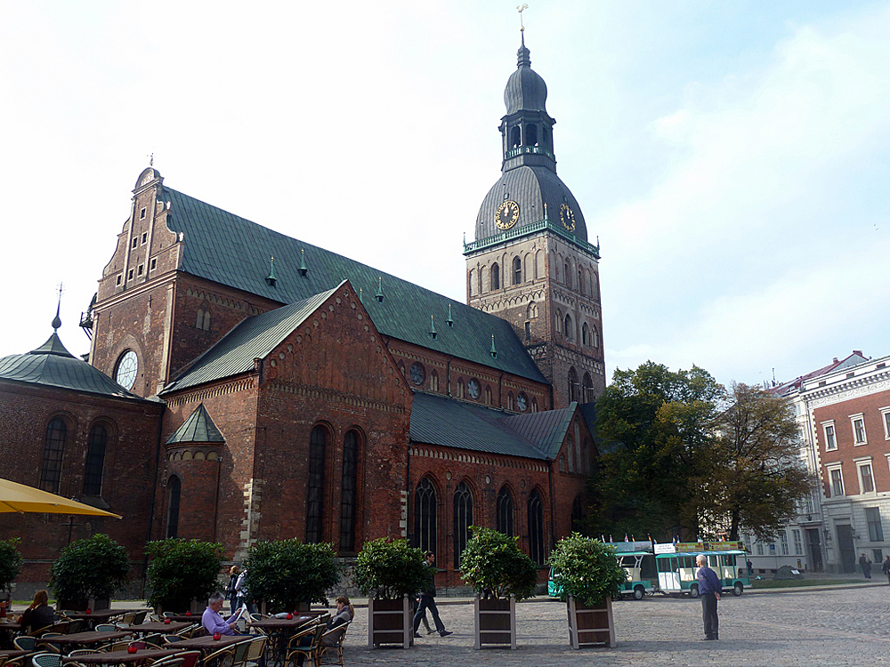 Домский собор в Риге, Латвия - Redigo.ru: http://redigo.ru/geo/Europe/Latvia/poi/10954/media/photo