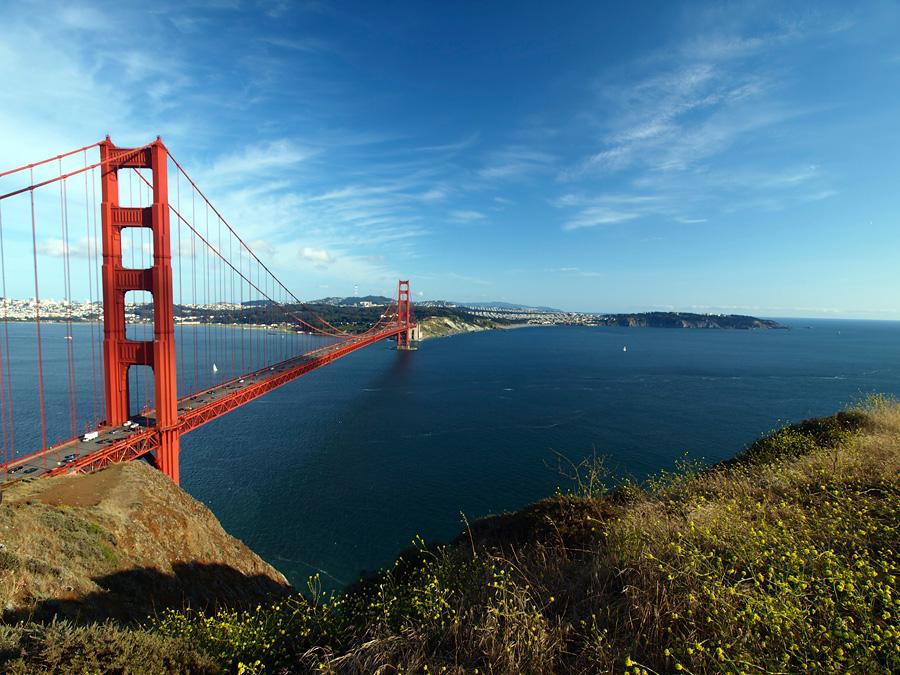 Мост Золотые Ворота, Сан-Франциско, США, Северная Америка и Карибы