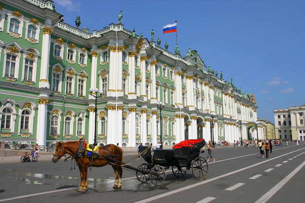 Дворцовая площадь, Санкт-Петербург, Россия, Европа