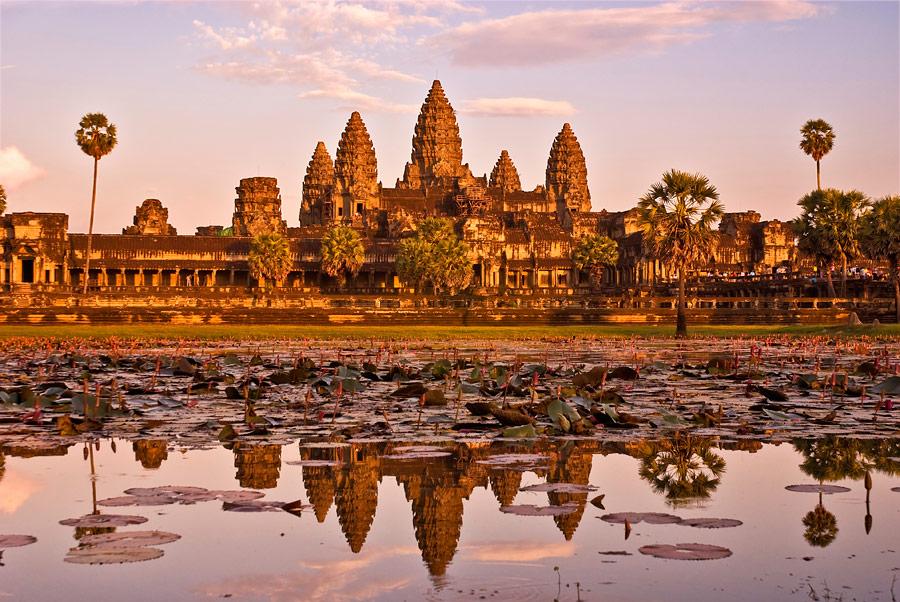 Ангкор Ват, Ангкор, Камбоджа, Азия