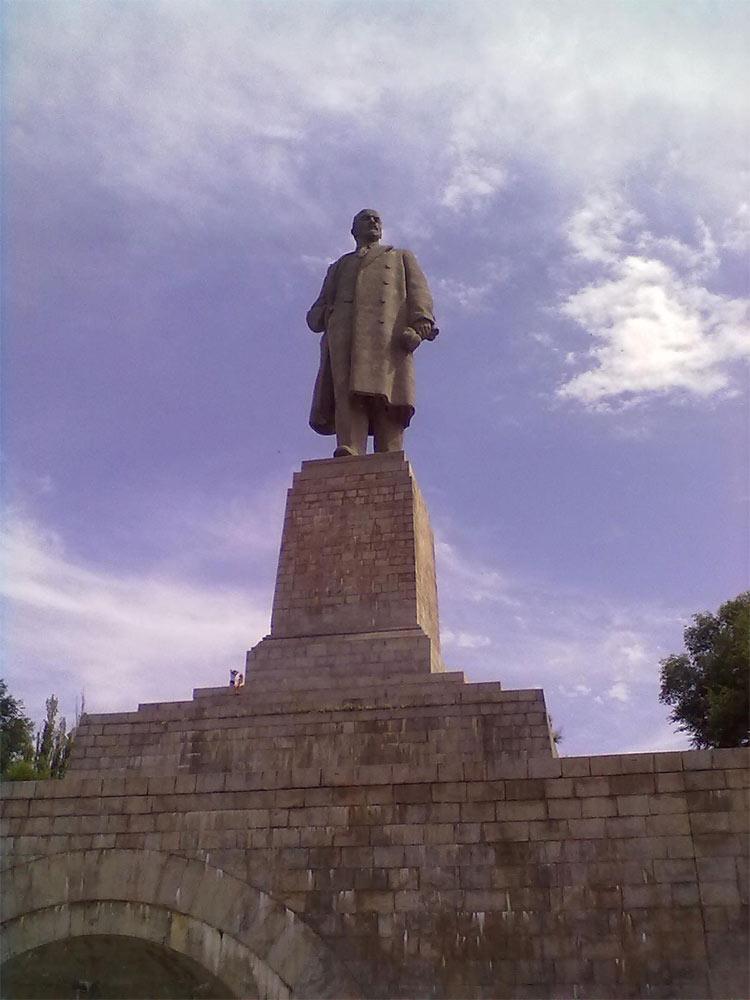 Памятник Ленину, Волгоград, Россия, Европа