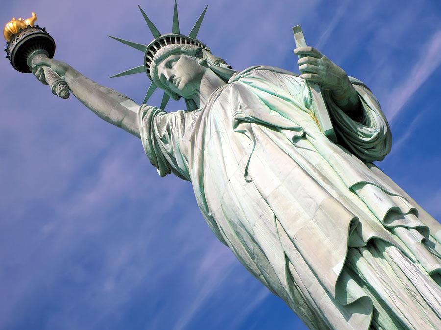 Статуя Свободы, Нью-Йорк, США, Северная Америка и Карибы