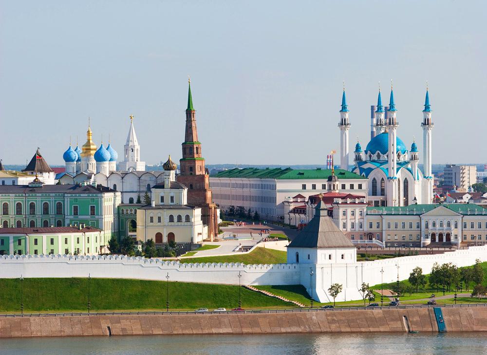 Казанский Кремль, Казань, Россия, Европа
