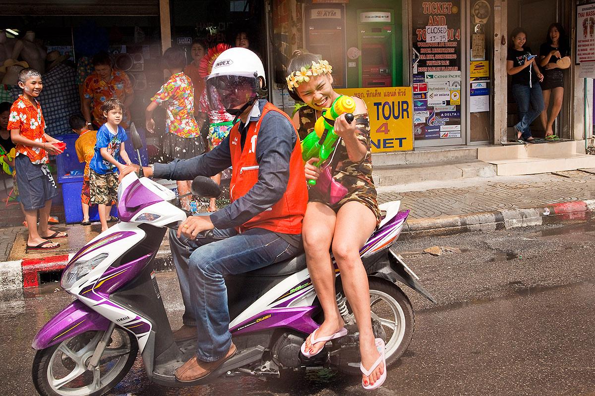 Сонгкран, Таиланд