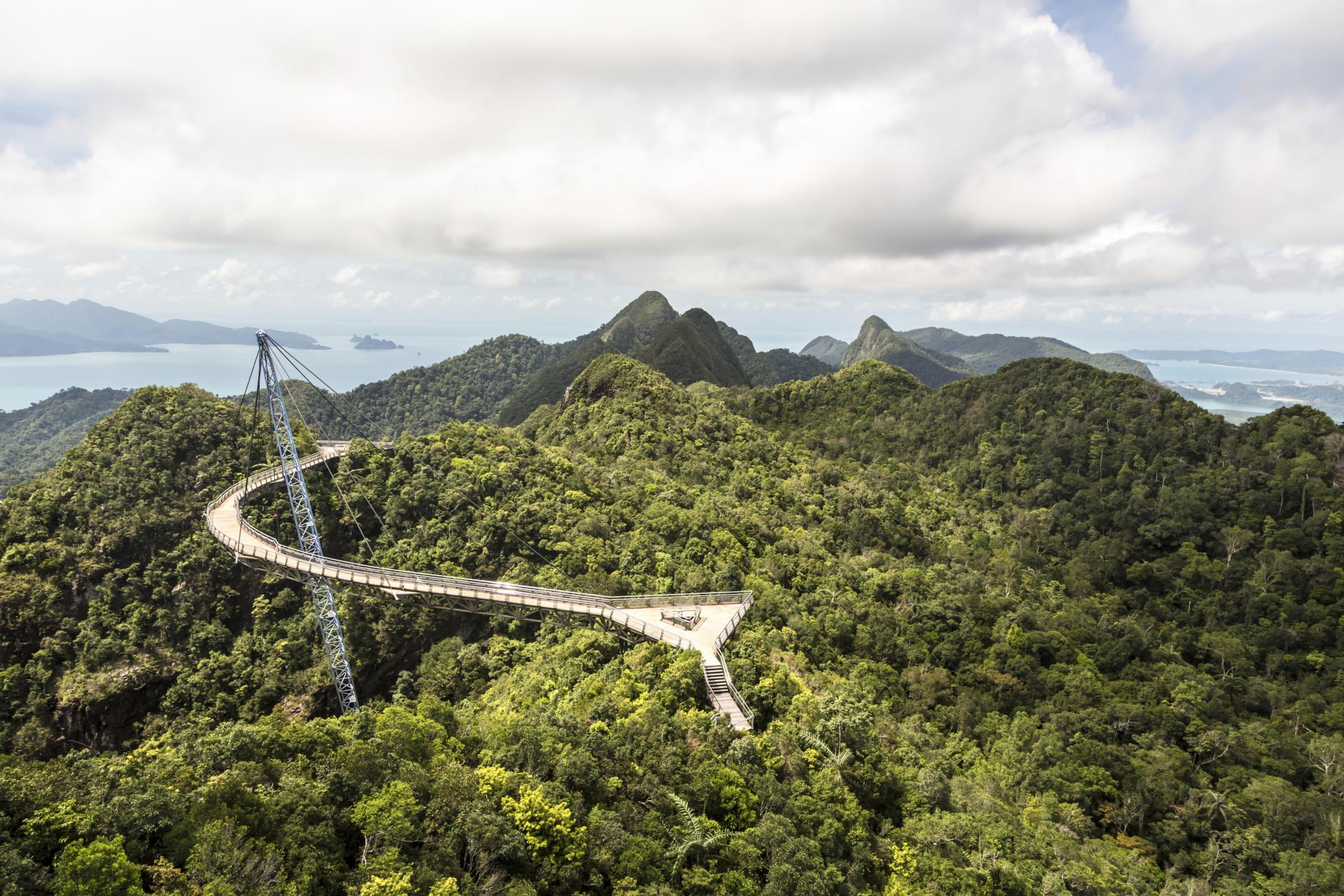 Смотровая площадка Sky Bridge, Лангкави, Малайзия, Азия