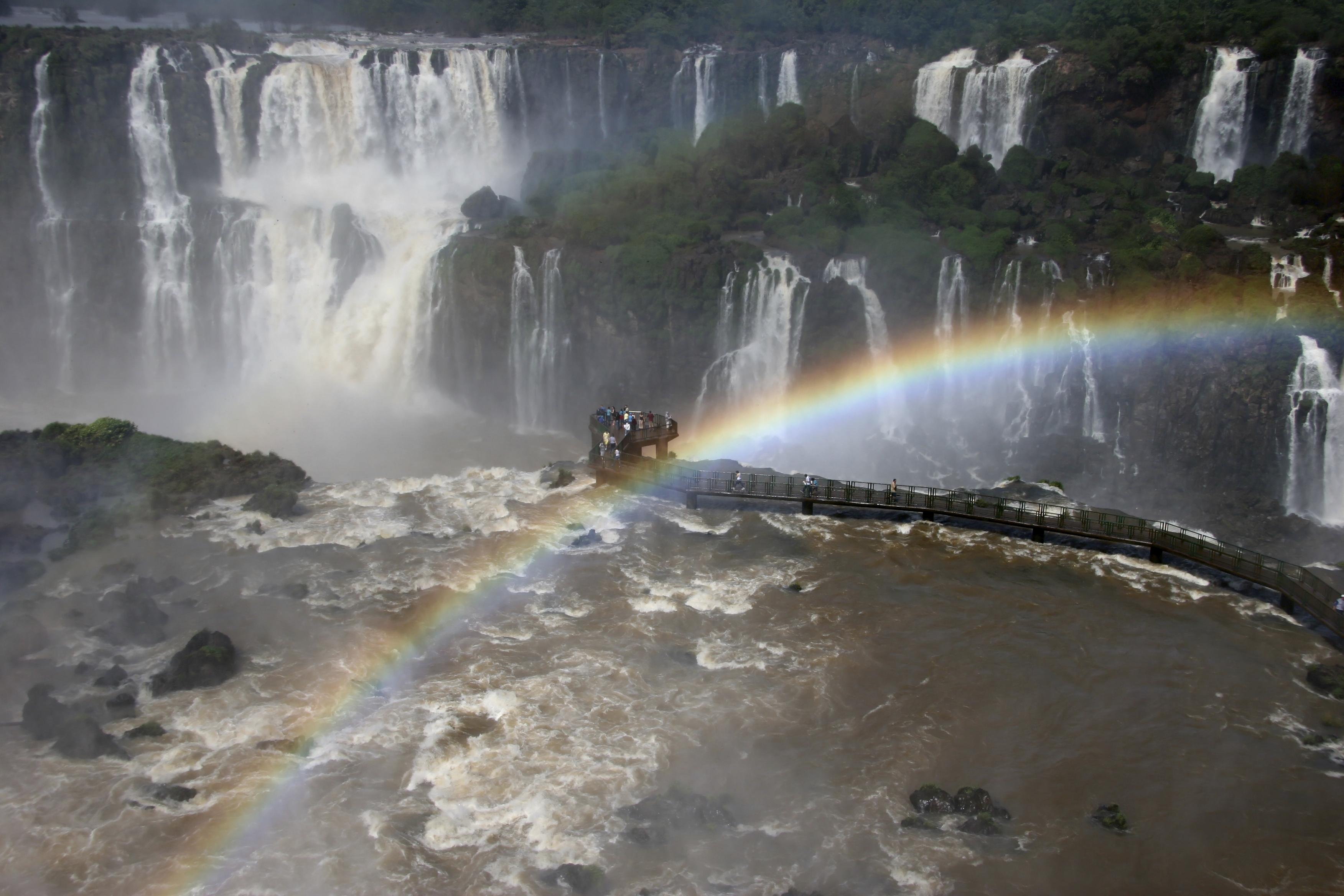 Водопады Игуасу, Бразилия, Южная Америка