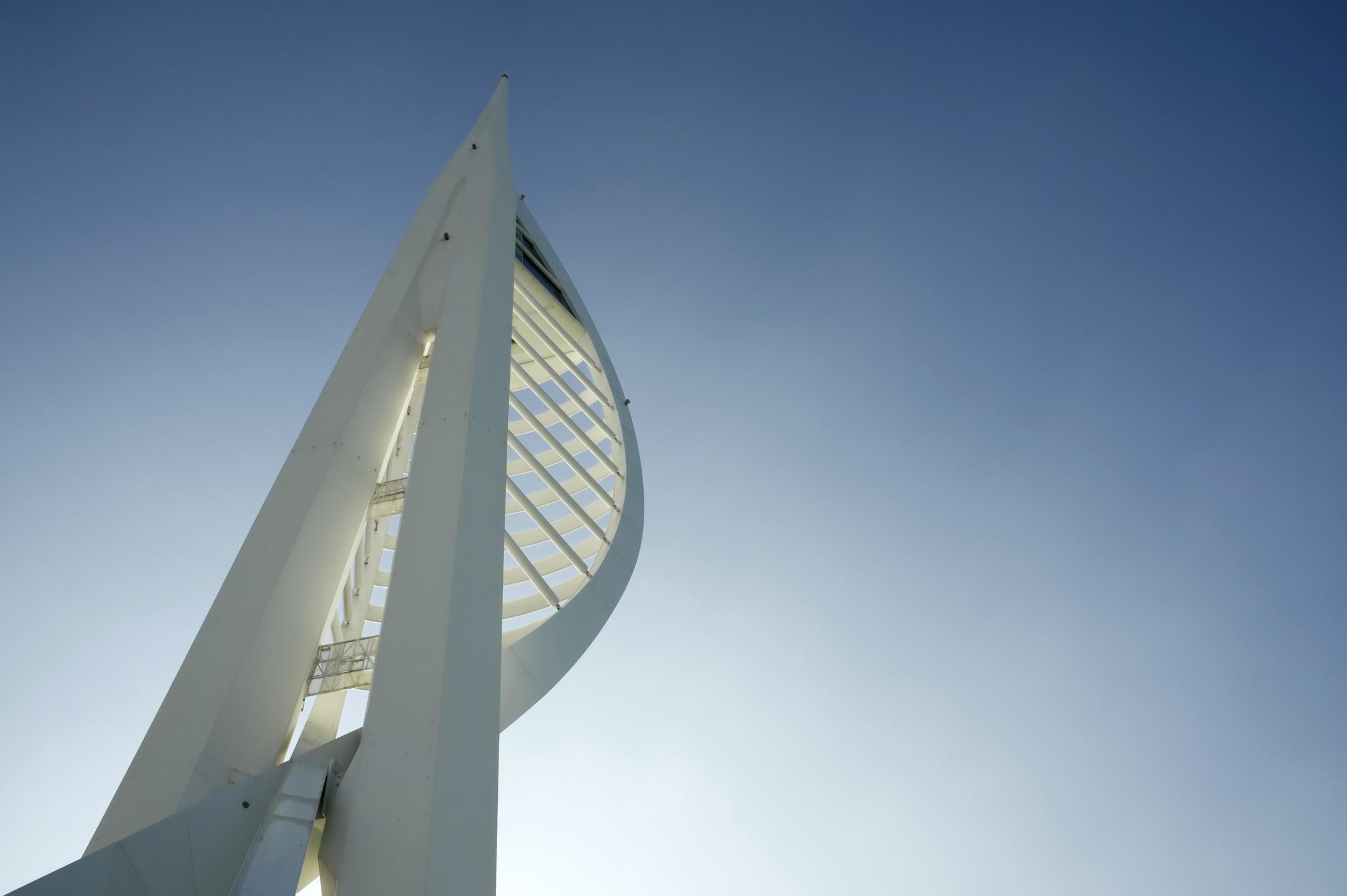 Смотровая башня Spinnaker Tower, Портсмут, Великобритания, Европа