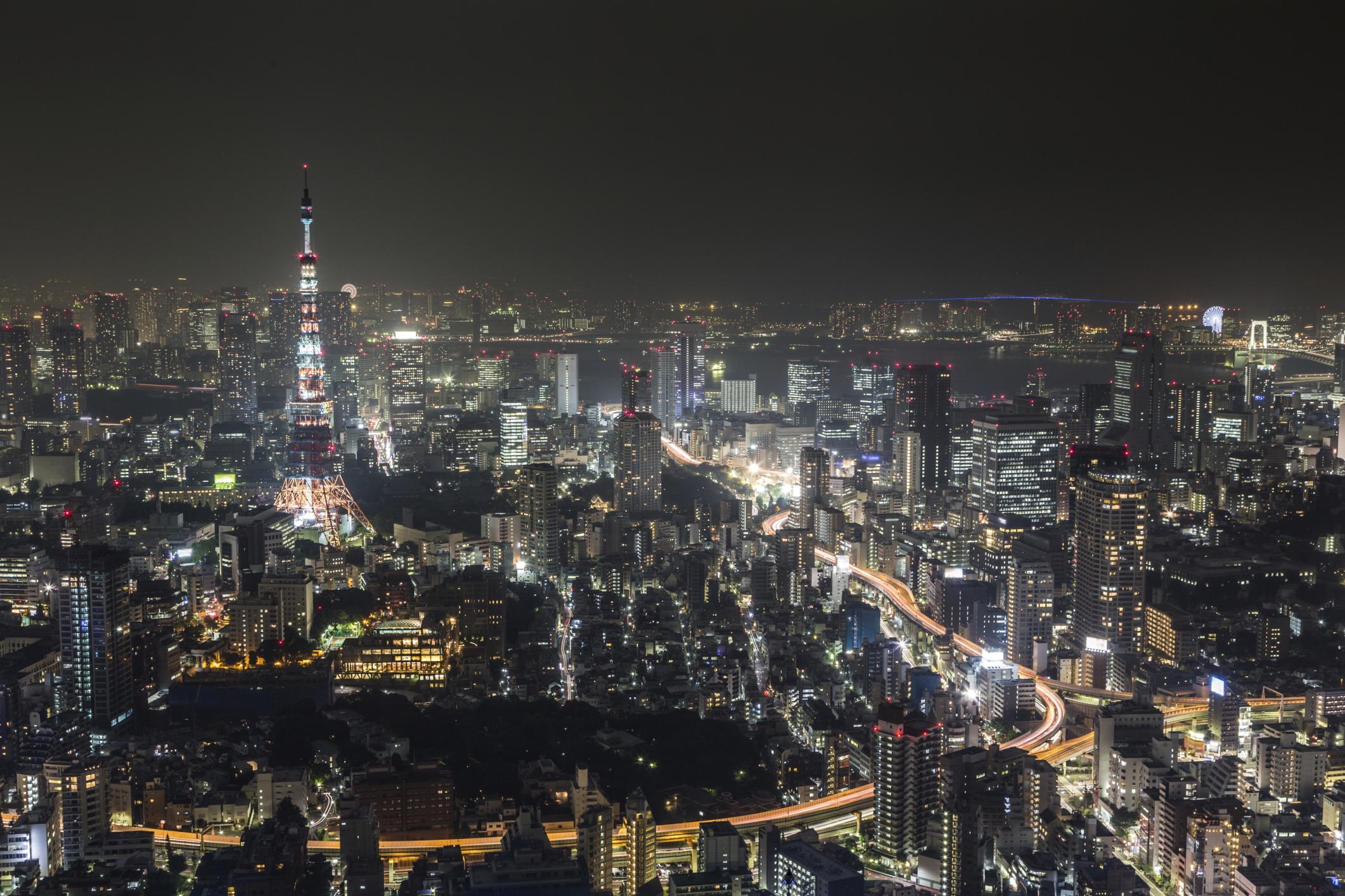 Смотровая площадка башни Mori Tower, Токио, Япония, Азия