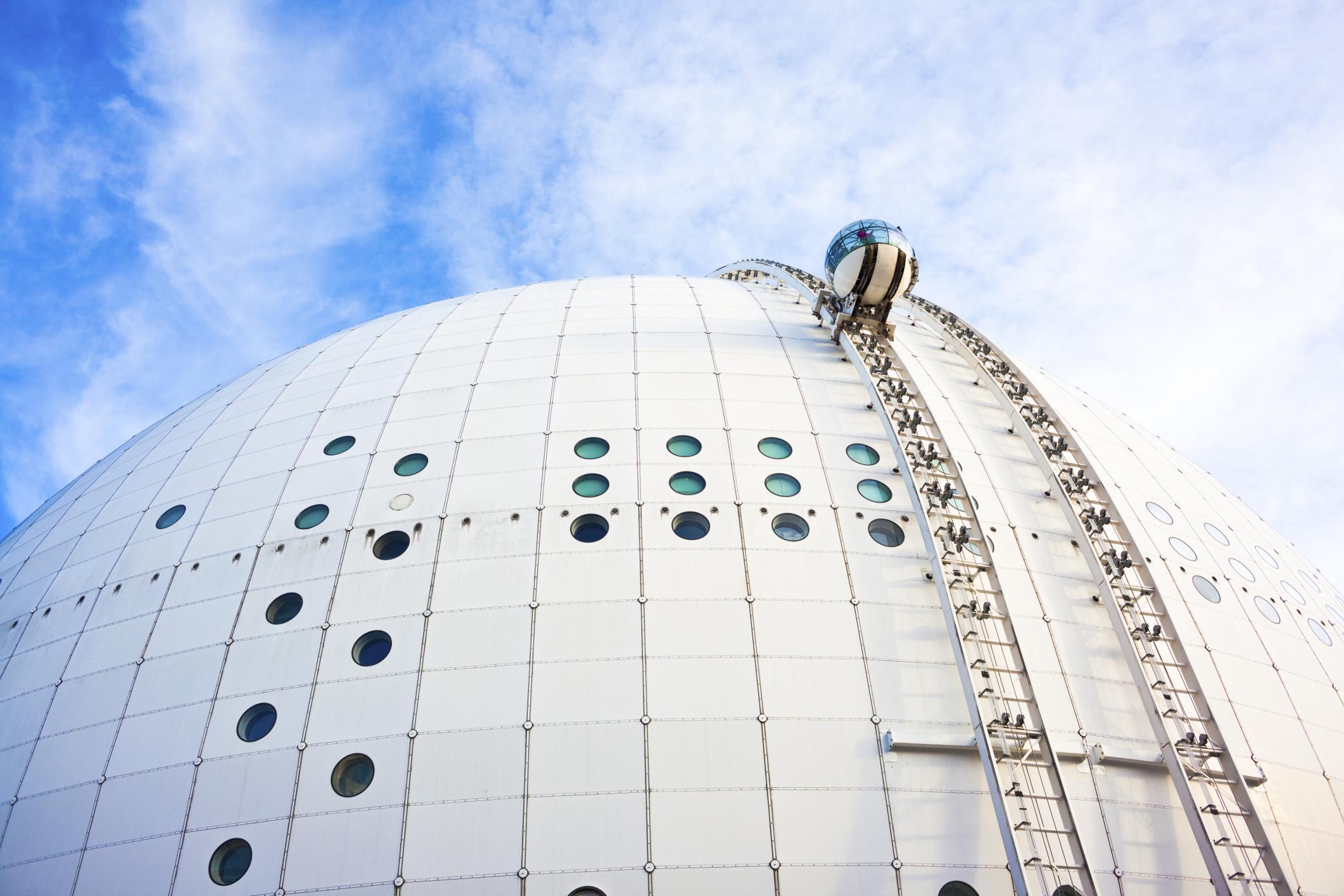 Смотровая площадка Ericsson Globe, Стокгольм, Швеция, Европа
