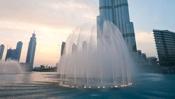 Монументы, памятники, фонтаны: Поющий Дубайский фонтан
