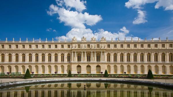 Версаль париж франция европа