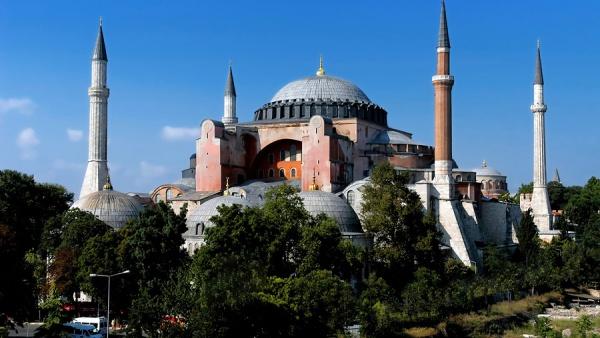 Св. София (Айя-София), Стамбул, Турция, Ближний Восток