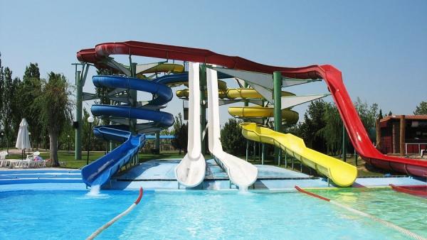 Аквапарк Waterland , Салоники, Греция, Европа