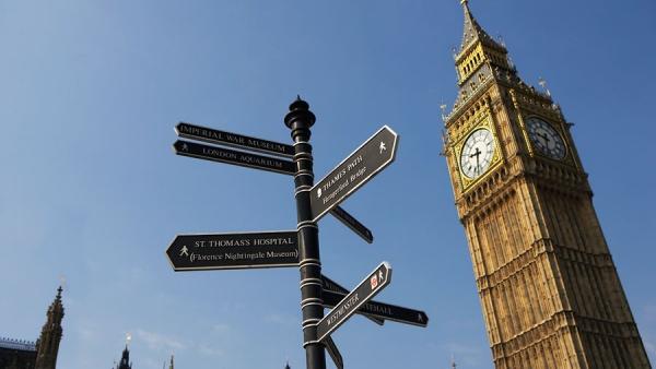 первое знакомство с лондоном