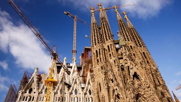 Собор Святого Семейства, Барселона, Испания, Европа