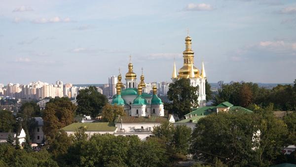 Киево-Печерская лавра, Киев, Украина, Европа