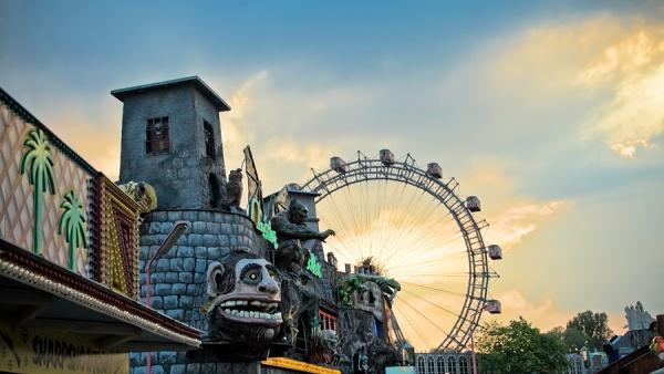 Парк развлечений Пратер, Вена, Австрия, Европа