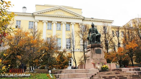 Здание МГУ на Моховой, Москва,