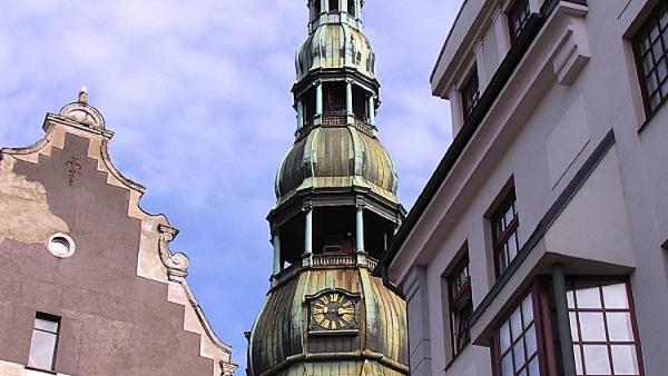 Петровская церковь, Рига, Латвия, Европа