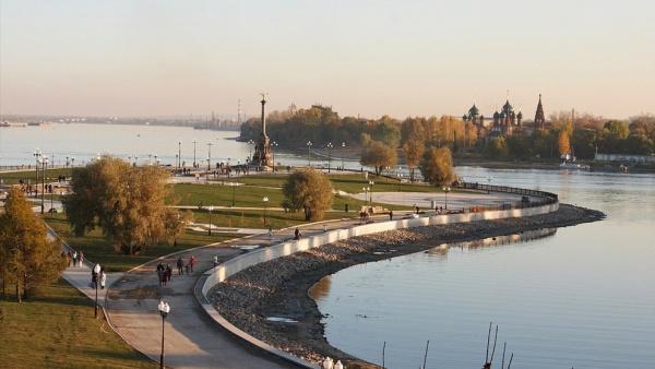 Парк на Стрелке, Ярославль, Россия, Европа
