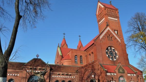 Костел святого Симеона и святой Елены, Минск, Белоруссия, Европа
