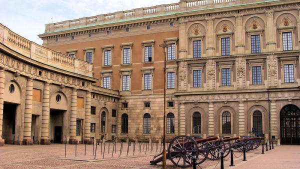 Королевский дворец стокгольм швеция