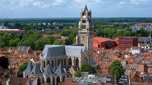 Кафедральный собор Христа Спасителя, Брюгге, Бельгия, Европа