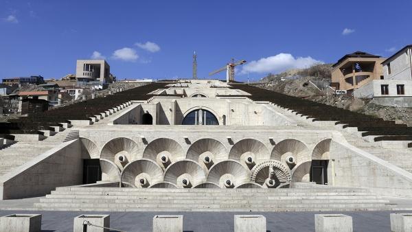 Каскад, Ереван, Армения, Европа
