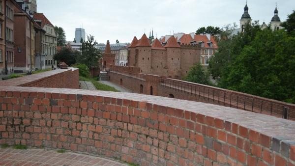 Варшавский Барбакан, Варшава, Польша, Европа