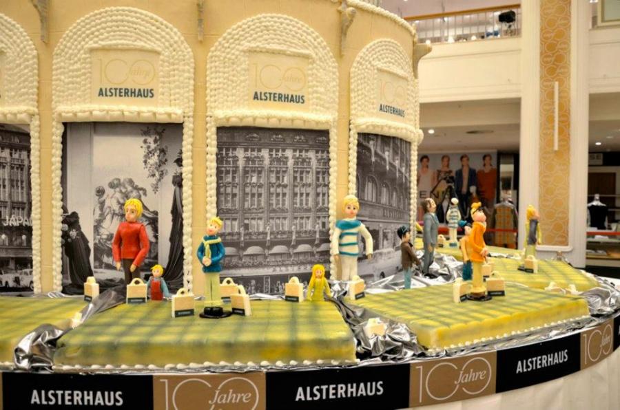 Торговый центр alsterhaus в гамбурге