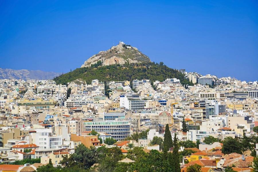 Гора Ликавитос в Афинах, Греция - фотография 1 из 7 ...: http://redigo.ru/geo/Europe/Greece/poi/10621/media/photo