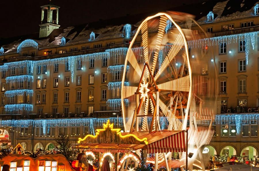 Рождественский базар штрицельмаркт