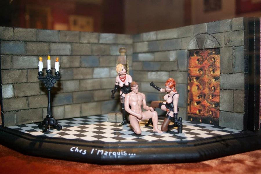 Секс в музее игра